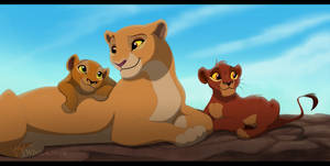 Kiara's little children - Remake by WhiteKimya