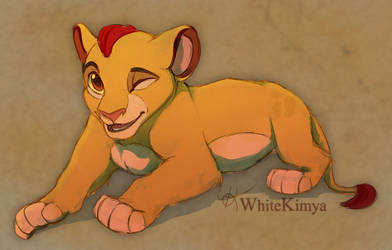 Young Kion by WhiteKimya