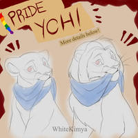 [OPEN] Pride YCH - Stickers and Badges!