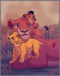 Uru, Mufasa and Taka