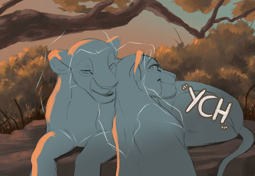 Lovely Sunset YCH [OPEN]