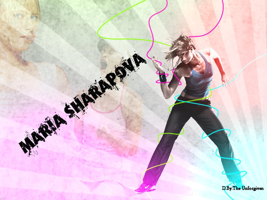 Maria Sharapova by AdnanMohammed