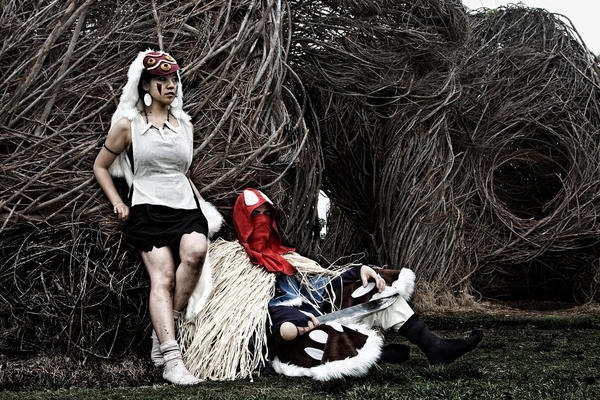 I wanna be a Princess Mononoke by Courto