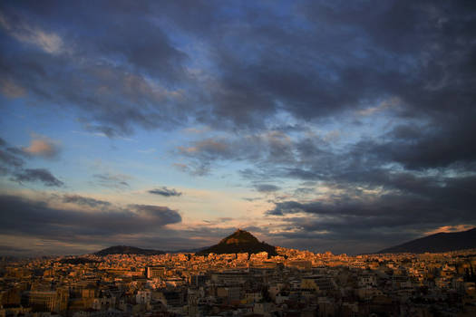 Athens from Anaphiotica