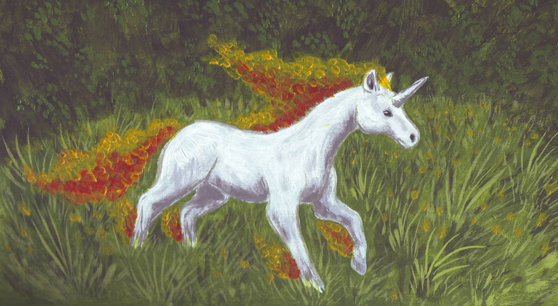Rapidash Painting by Mewstor