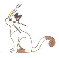 Meowth by Mewstor