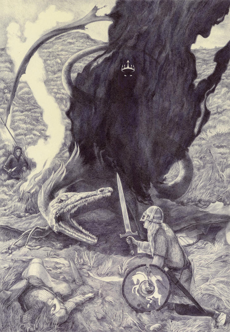 Eowyn vs. the Nazgul by Ryer-Ord-Star