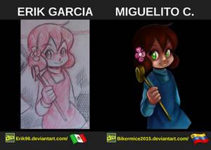 Digital Painting, Comparacion De Personajes 02