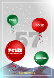 Design | Flyer Birthday #15 | 100% Vector by BikerMice2015