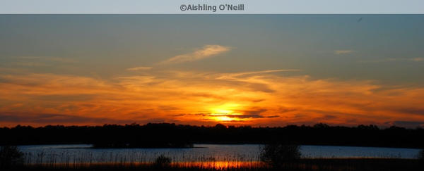 Lake Derragh Sunset, Ireland by fluffyvolkswagen