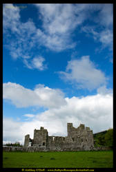 Fore Abbey, Westmeath, Ireland by fluffyvolkswagen