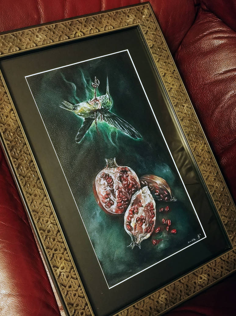 the resurrection of a hummingbird *framed) by aliceinsane
