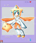 Pokemon Gijinka: Jirachi