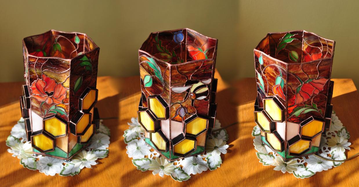 Honey Lamp - final piece by bobidoo