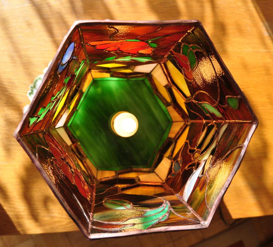 Honey Lamp - top view by bobidoo