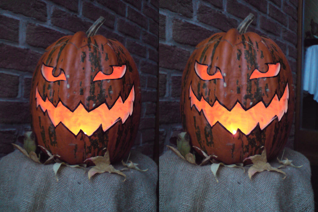 Pumpkin 3D by A-ku-ma