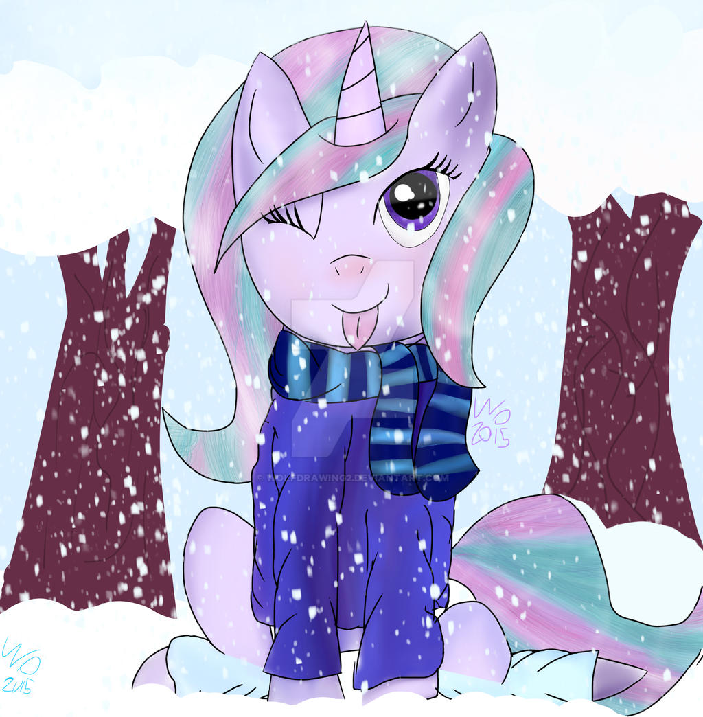 winter time by wolfdrawing2