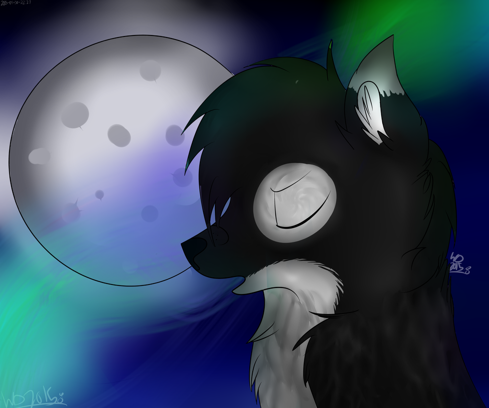 Art trade with wolf.draw on instagram by wolfdrawing2