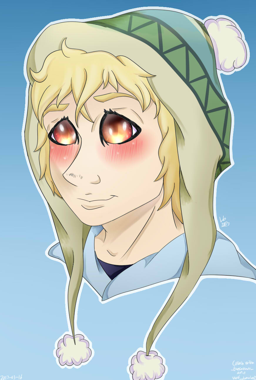 Yukine [COLLAB] by wolfdrawing2