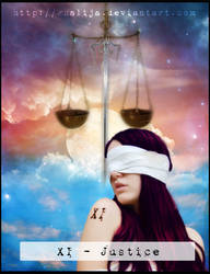 NuN Tarot : Justice v.2