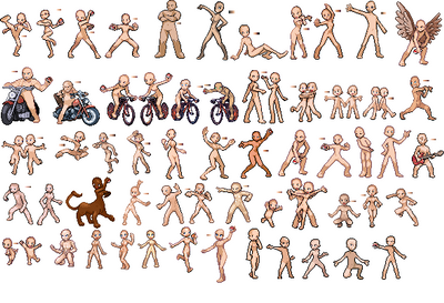 Nude Trainer Sprites -Reupdated by Kalorian
