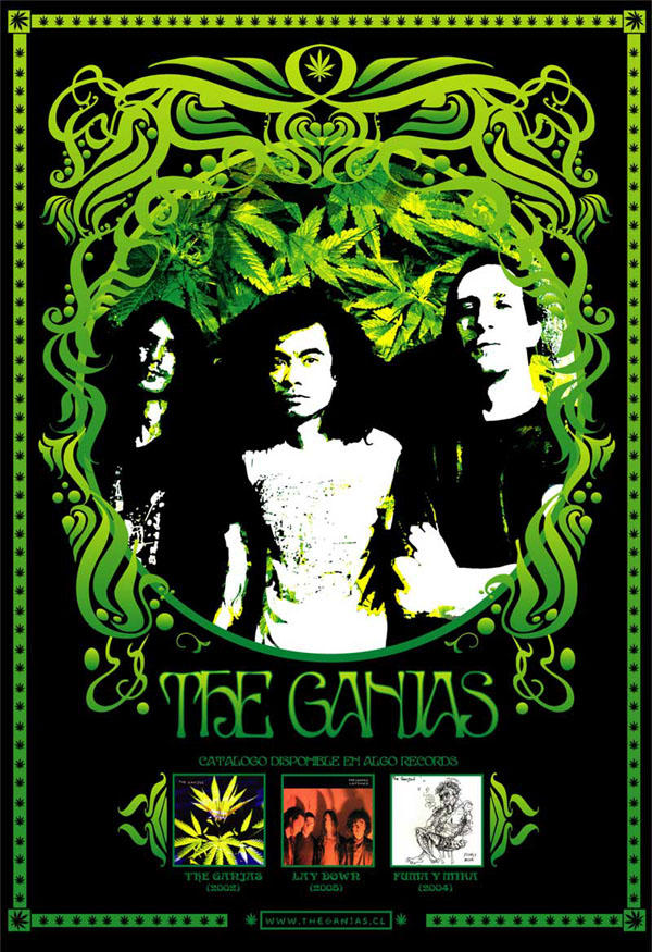 Poster y Flyers The_Ganjas_V_1_by_lobenzo