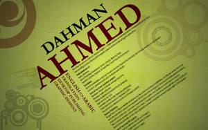 Fun with my CV by a-dahman