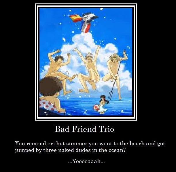 Hetalia Bad Touch Trio Yaoi