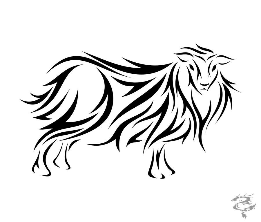 foto de Chinese Zodiac Tattoo Sheep by visuallyours on DeviantArt