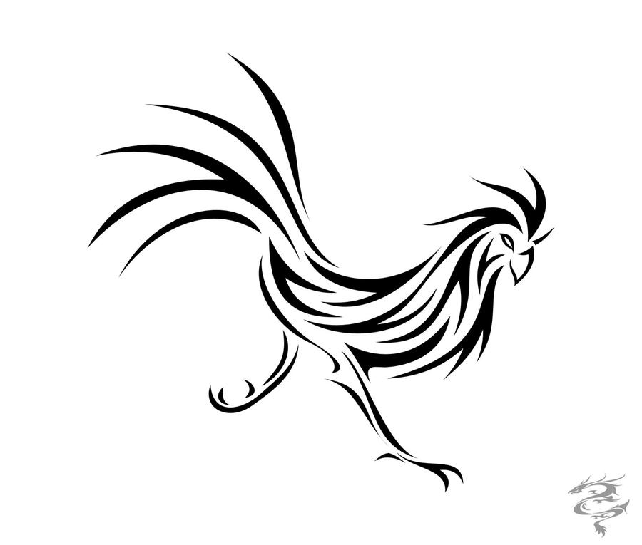 Free Rooster Tattoos