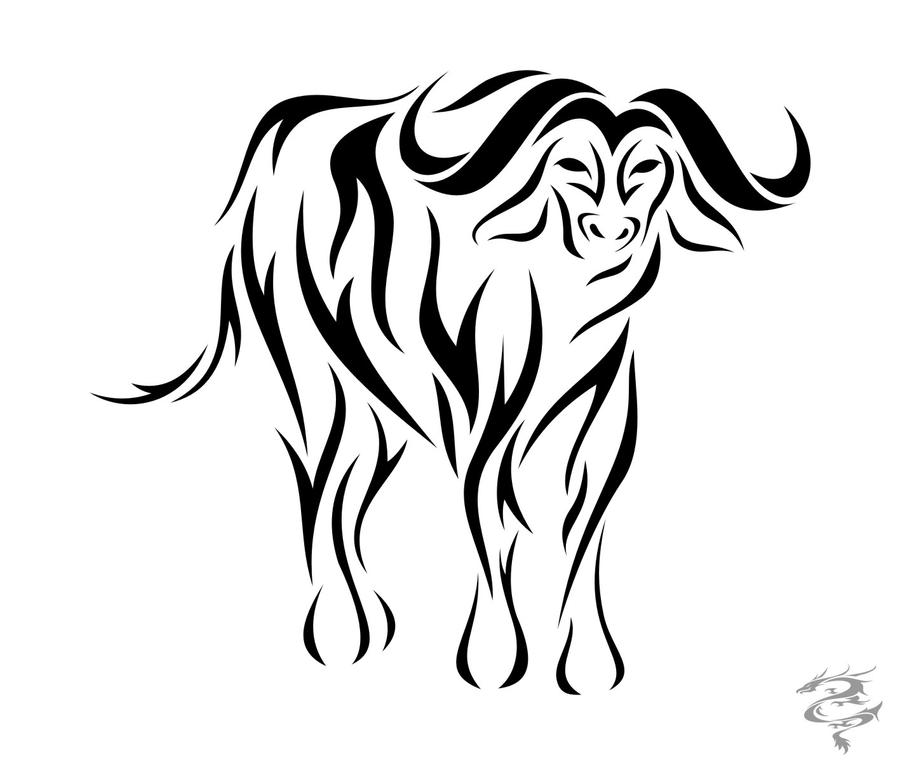 chinese zodiac tattoo ox by visuallyours on deviantart. Black Bedroom Furniture Sets. Home Design Ideas