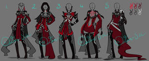 Full Clothing Designs [CLOSED] by JxW-SpiralofChaos