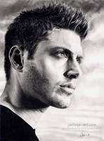 Jensen Ackles - A Winchester by Jeanne-Lui