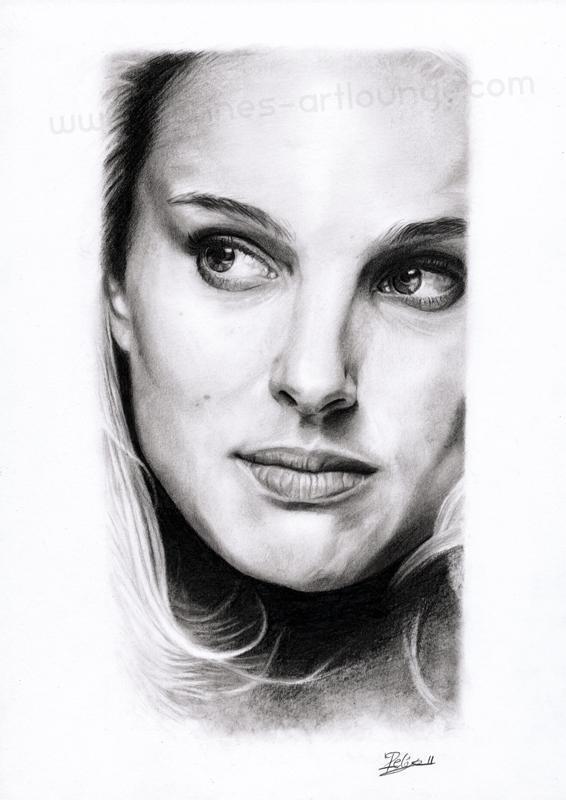 Natalie Portman by Jeanne-Lui