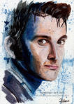 Doctor Who - Tenth Doctor   Art Card by Jeanne-Lui