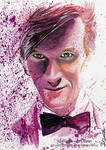 Doctor Who - Eleventh Doctor   Art Card by Jeanne-Lui