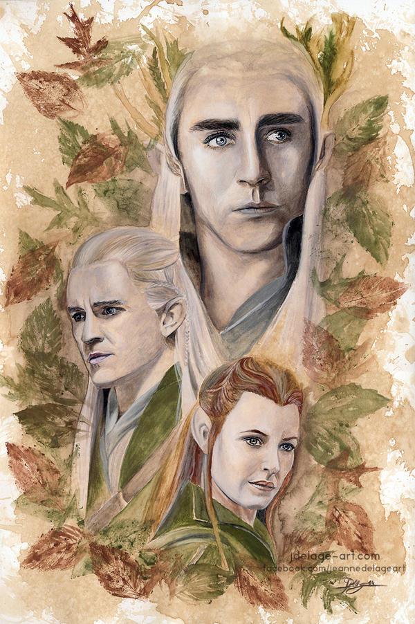 Elves of Mirkwood by Jeanne-Lui