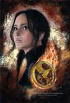 Katniss Everdeen - Mockingjay | Speedpainting