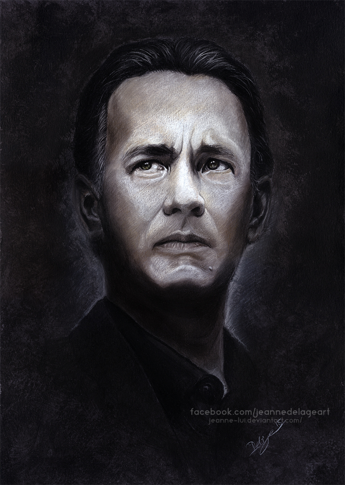 Tom Hanks 'Robert Langdon' | SpeedArt by Jeanne-Lui