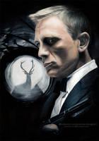 007 James Bond (Daniel Craig) - Skyfall | SpeedArt by Jeanne-Lui