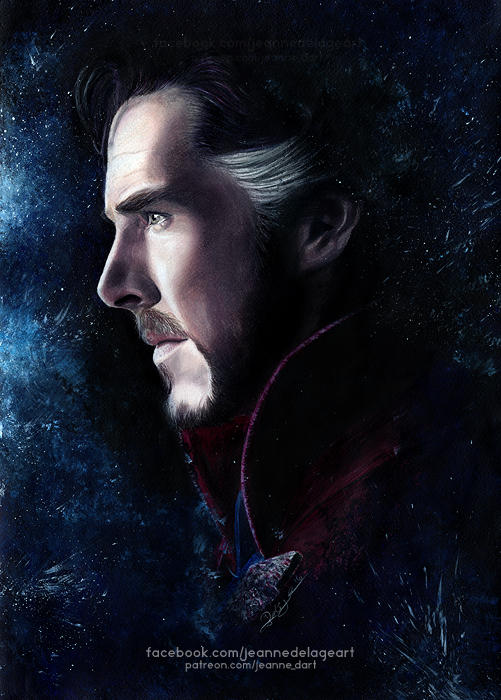 Doctor Strange (Benedict Cumberbatch) | Speed Art