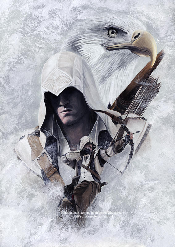 Assassin's Creed - Connor Kenway | SpeedArt