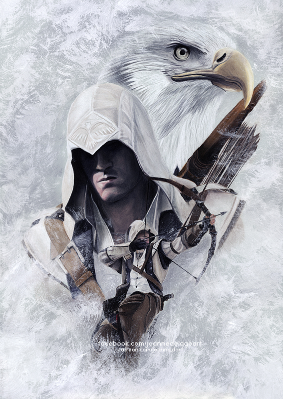 Assassin S Creed Connor Kenway Speedart By Jeanne Lui On