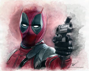 Deadpool | Watercolor
