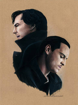'Sheriarty' - Sherlock and Moriarty