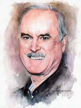 John Cleese | Realistic Watercolor