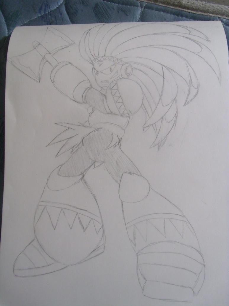 Tomahawkman scribble by YumaLightning