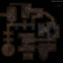 Clean gridless dungeon battlemap for DnD / roll20 by SavingThrower