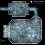 Frozen chamber clean gridless battlemap