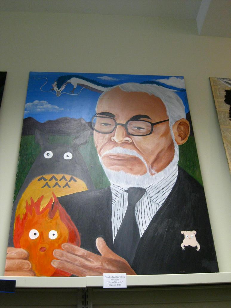 Miyazaki Painting by BengalTiger4
